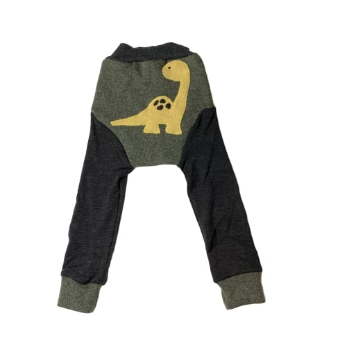 Dinosaur - Ullbuksa longs + bomullpose bak