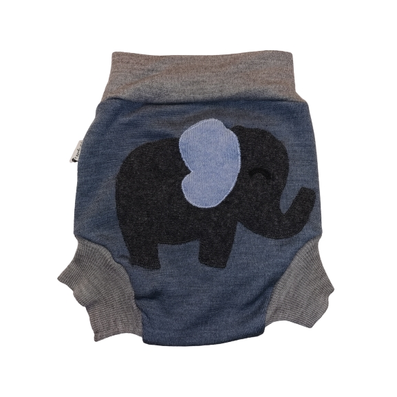 Elefant - Ullbukse - XL ( 13kg+) + bomullpose front