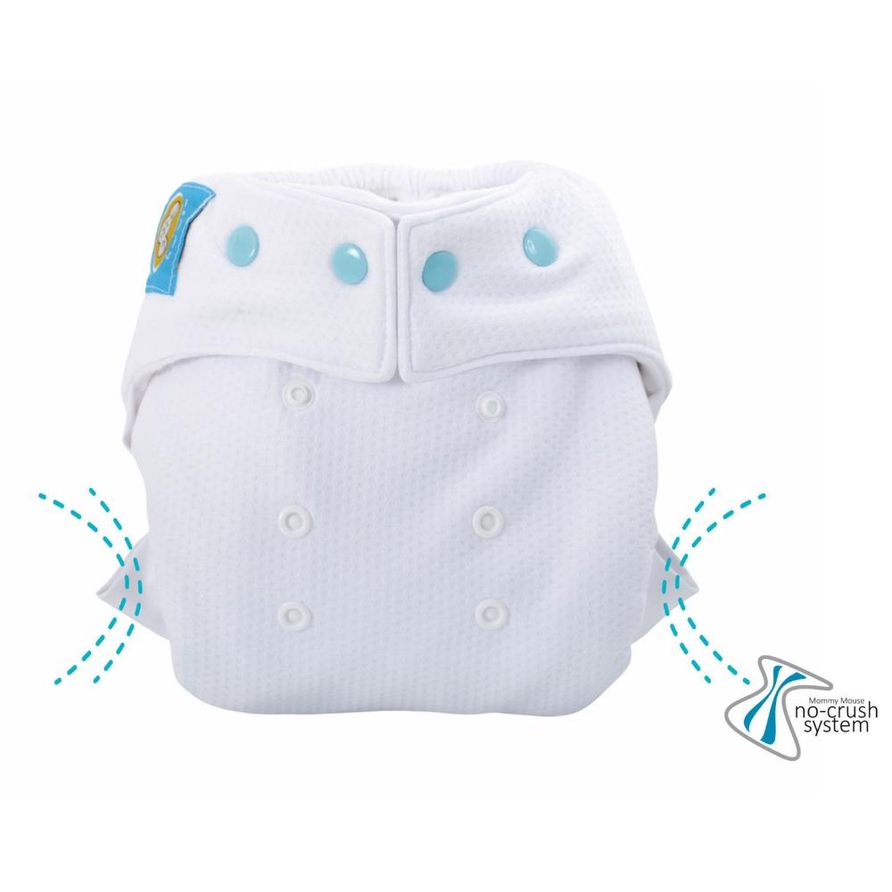 Formsydd nattbleie XL knapper bomull, Mommy Mouse, 9-19 kg