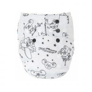 white-lommebleie-os-4-16kg-mikrofleece-mommy-mouse